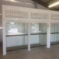 Double Fronted Walk-In Fume Cupboard