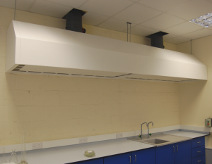 Powder Coated Fume Hood