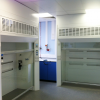 Walk in fume cupboards with scrubbers
