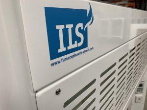 ILS K8 Fume Cupboard branding